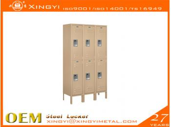 Standard Steel Locker Double Tier Tan
